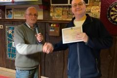 Kampioen Bandstoten 1e klasse: Patrick Ouwerkerk