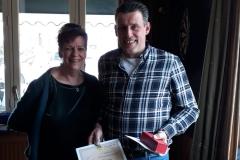 Kampioen Driebanden 2e klasse: Jan Willem Blijenburg